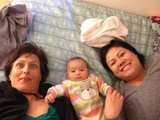 Claire Elise, Mom & Grandma
